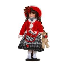 Фарфоровая кукла Розочка с мягконабивным туловищем
