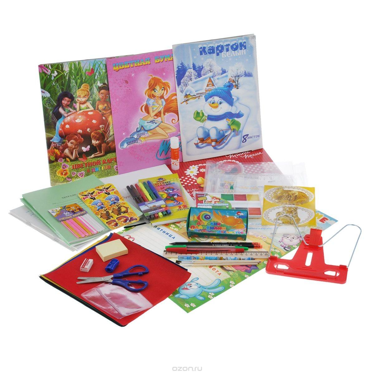 Набор школьных принадлежностей Подарок первокласснику