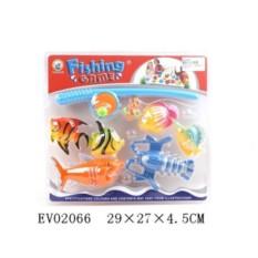 Пластмассовая игрушка Рыбалка