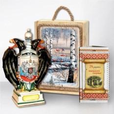 Подарочный набор «Сибирь. Герб» (цветной)