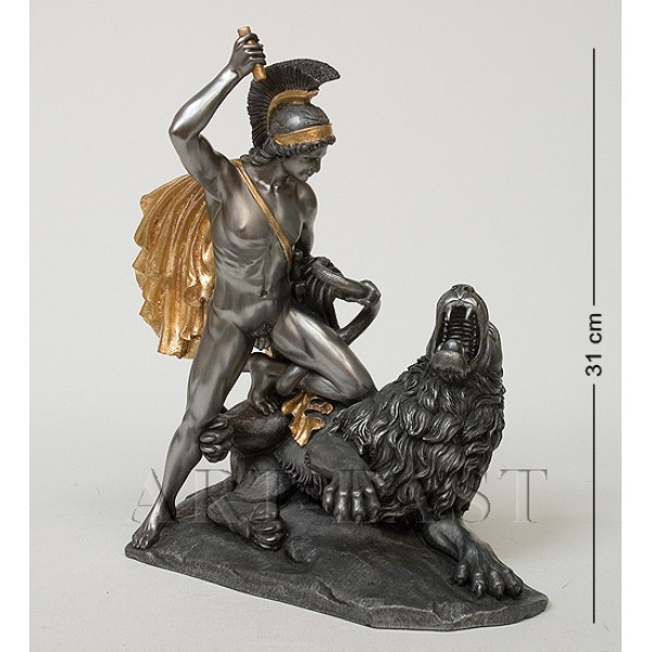 Статуэтка Беллерофонт сражается с Химерой