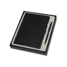 Черный набор для записей Альфа формата А5
