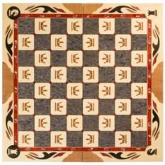 Резные шахматы ручной работы