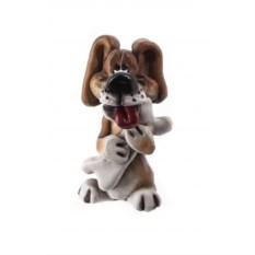 Декоративная фигурка Собака с косточкой