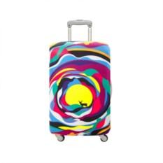 Чехол для чемодана LOQI Steve Wilson Psychedelic