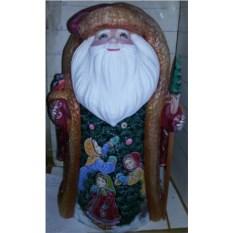 Игрушка Дедушка Мороз из дерева