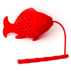 Ситечко для чая Красная рыбка