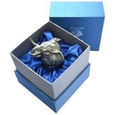 Стопка с головой животного в подарочной коробке Слон