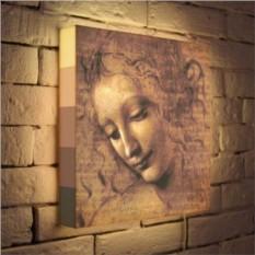 Световая картина «Эскиз да Винчи»