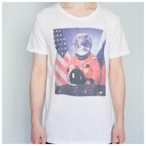 Футболка мужская Космонавтика