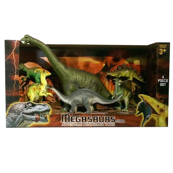 Игровой набор динозавров Megasaurs