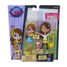 Фигурка Hasbro Littlest Pet Shop Модница Блайс и зверюшка