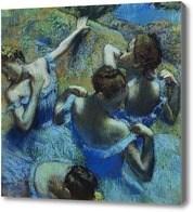 Репродукция картины Балерины в голубом