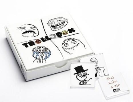 Шоколадный мини-набор Trollobox