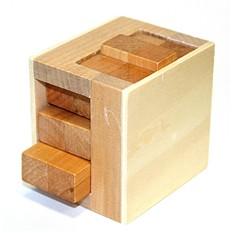 Головоломка деревянная светлая
