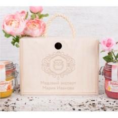 Набор фруктового крем-мёда «Медовый эксперт» (9 видов)