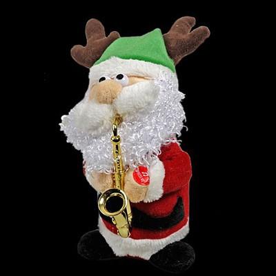 Санта саксофонист