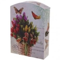 Настенная ключница Тюльпаны