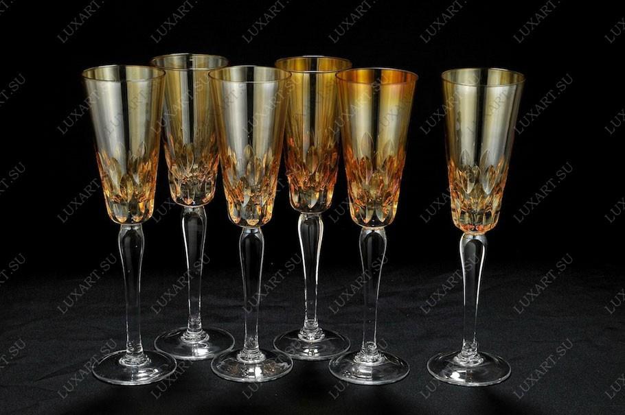 Хрустальные бокалы для шампанского Same Cristallerie