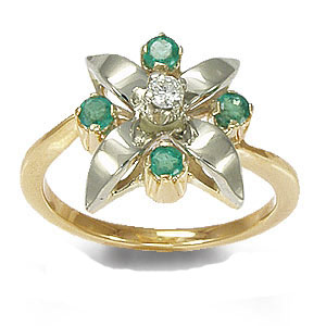 Кольцо «Весеннее настроение»