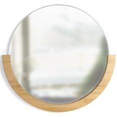 Деревянное настенное зеркало Mira