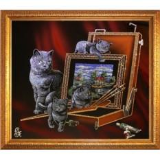 Картина Swarovski Художественный этюд