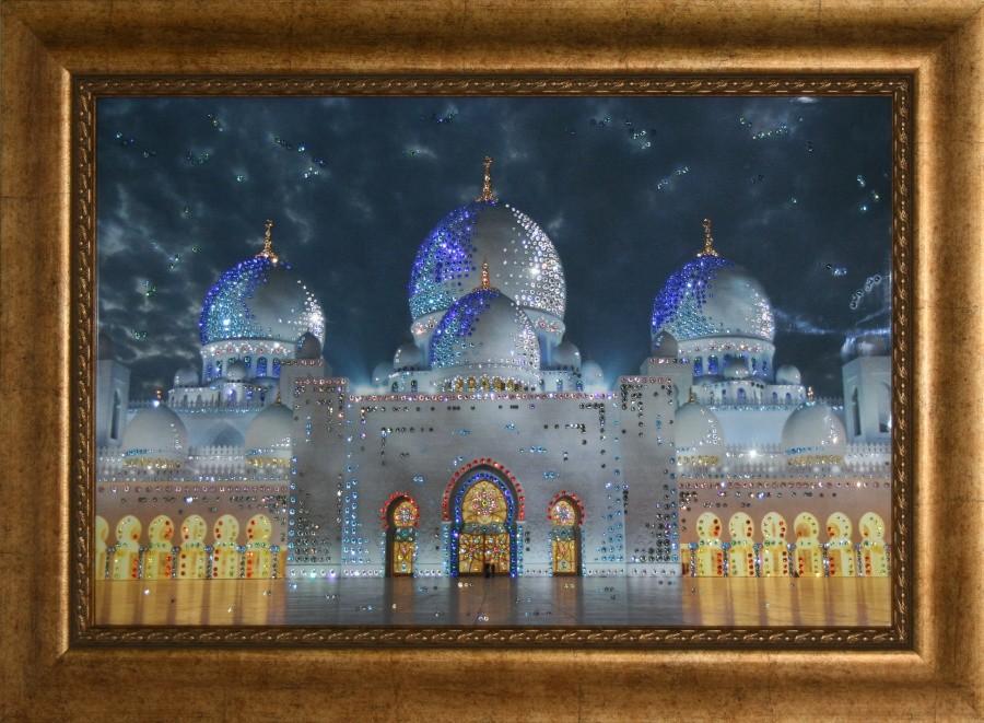 Картина с кристаллами Swarovski Мечеть-Дворец