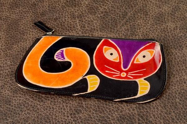 Кошелек. Коллекция Socotra Кошка (черный)