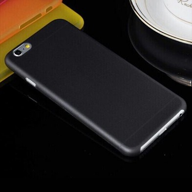 Ультратонкая матовая черная накладка для iPhone 6