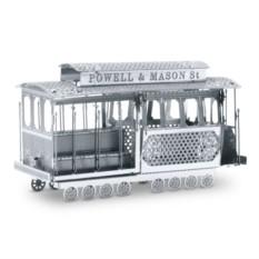 3D пазл из металла Трамвайчик Сан-Франциско