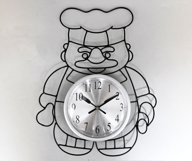 Часы настенные Повар