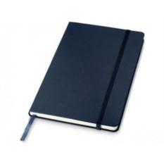 Записная книжка формата А5 на 80 страниц с застежкой