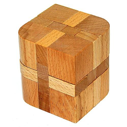 Головоломка деревянная в карт. кор. К12