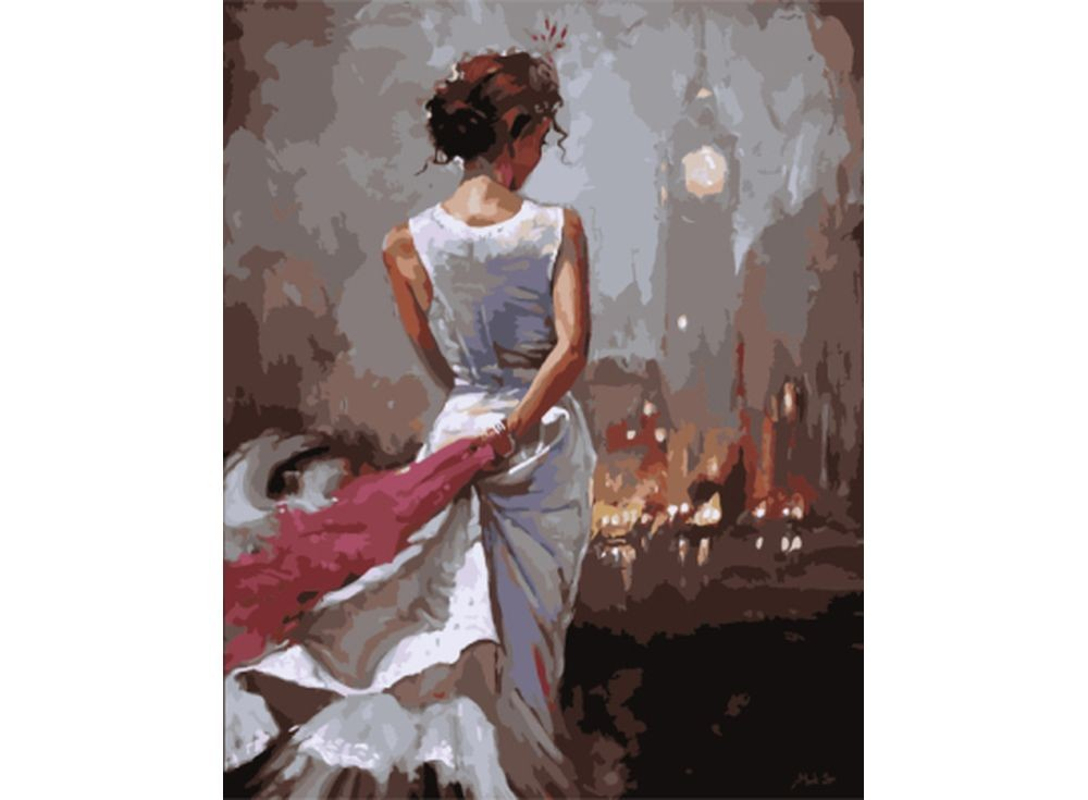 Картины по номерам «Лондонские ночи»