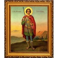 Икона на холсте Георгий Победоносец святой великомученик