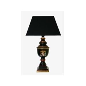 Лампа «Английский герб» с абажуром