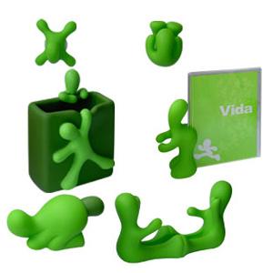 Набор канцелярский «Зеленые человечки»