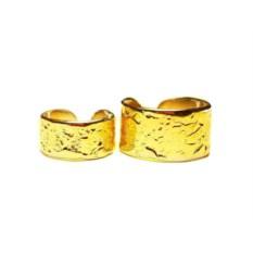 Фаланговые кольца (позолоченное серебро)