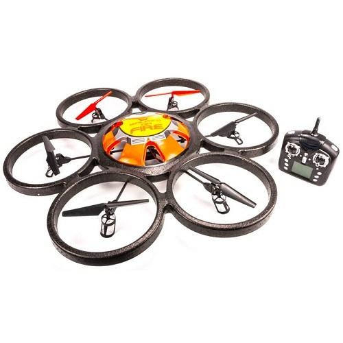 Радиоуправляемый квадрокоптер WL Toys V323 Sky Walker UFO