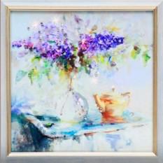 Картина Сиреневое чаепитие
