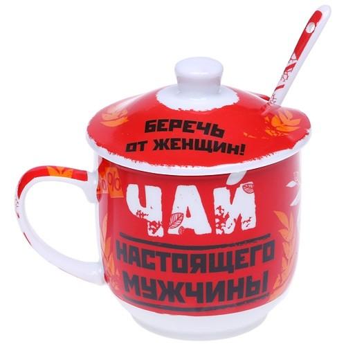 Заварочная кружка  «Чай настоящего мужчины»