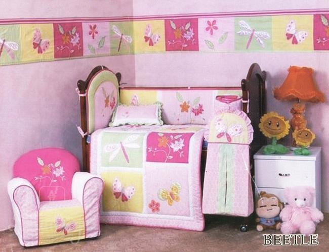 Комплект в детскую кроватку Beetle (5 предметов)