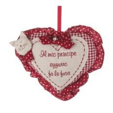 Декоративная игрушка в виде сердца