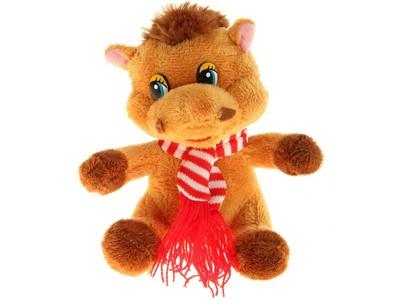 Мягкая игрушка Лошадь в шарфике