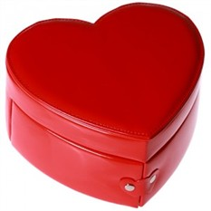Шкатулка для украшений «Алое сердце»