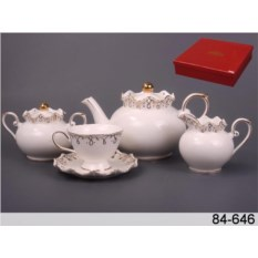 Чайный набор на 6 персон Лаура