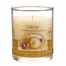 Ароматическая свеча Новогодняя карамель
