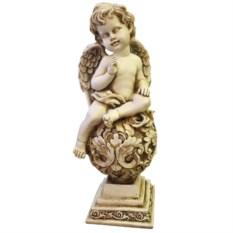 Декоративная фигура Ангелочек на шаре