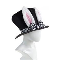 Маскарадная шляпа для взрослых Кролик из зазеркалья
