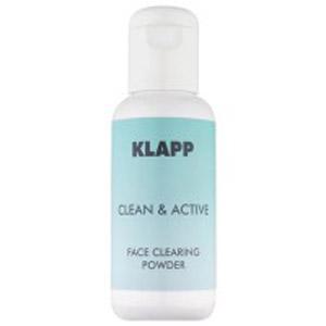 Очищающая пудра для лица Klapp